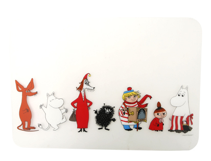 Place mat, Moomins family